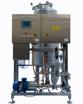 The Clean-in-Place systems (CIP) must be matched with a suitable pump to ensure efficient production.