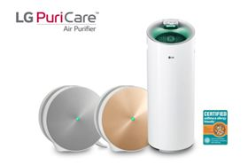 LG PuriCare air purifiers.