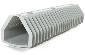 By washing 100% of the media in between each lateral, the Type 360 underdrain increases filter run times, reduces backwash water consumption and extends media filter life.
