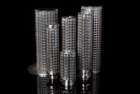 Stainless steel elements from Porvair.