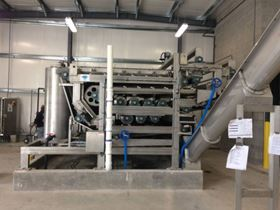 OR-TEC's Gemini Belt Press is 2.2 Meters Wide-ideal for medium-to-large size WWTP.