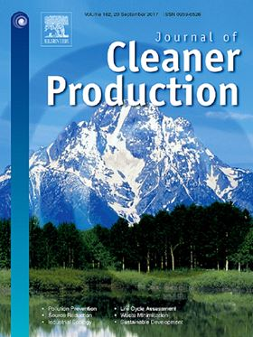 Journal of Cleaner Production.
