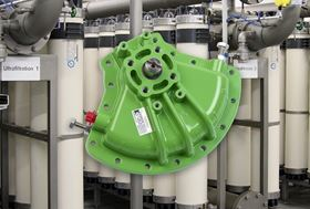 The K-TORK actuators control the flow of surface water in the membrane system, helping to process up to 52 million gallons of water a day.