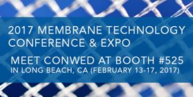 Conwed Plastics will be promoting its feed space portfolio at 2017 Membrane Technology Conference & Expo