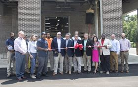 Commissioning of the plant took place on 1 August 2019 with a ribbon-cutting ceremony and open house.
