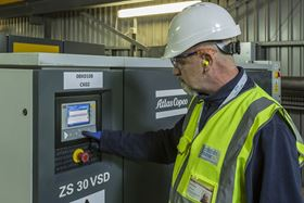The 17 Atlas Copco ZS machines can run at considerably reduced loads while delivering the same or larger volumes of air as the previous 19 units did before.