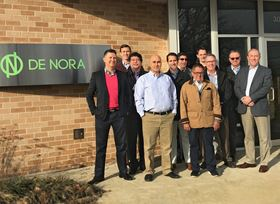 The De Nora Water Technologies sales team for the Americas market.