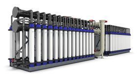 The Pentair X-Flow XF75 ultrafiltration (UF) membrane element is for water treatment projects.