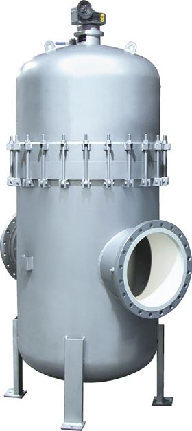 The Eaton Model 2596 automatic self-cleaning strainer is designed for continuous, uninterrupted removal of entrained solids from liquids in pipeline systems.