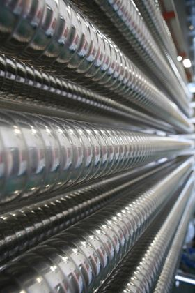 Corrugated tubes have been shown to help reduce many types of fouling.