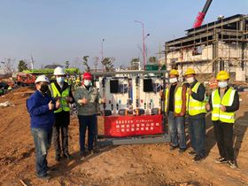 ProMinent China employees installed and commissioned the water treatment system in just three days.