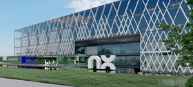 An artist's impression of NX Filtration's new factory in Hengelo, the Netherlands.