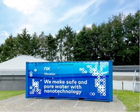 NX Filtration's Mexpert pilot system at Industriewater Eerbeek.