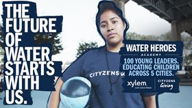 Xylem announced the launch of the project with Cityzens Giving on World Water Day.