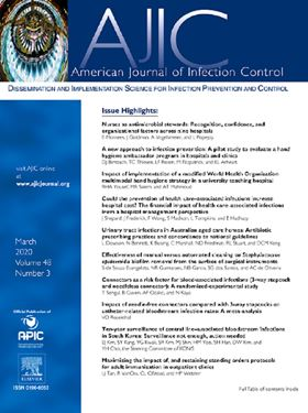 American Journal of Infection Control