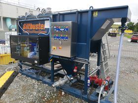 SPS installed one of its integrated iHB10 lamella clarifier units on site.