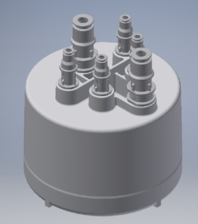 Porvair designed a module which incorporates three filters in a single assembly.