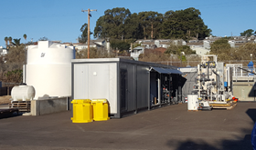The Central Coast Blue Advanced Water Purification Demo Facility in Pismo Beach, CA.