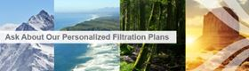 CLARCOR Industrial Air's personalized filtration planning aims to improve gas turbine inlet performance.