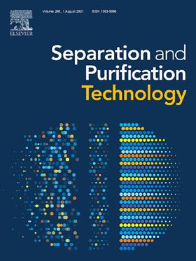 Separation and Purification Technology.