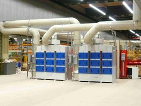 Figure 4: Clean Air Scand Mist solution for heat treatment.