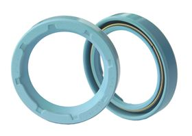 Simmerring seals are now available in two new materials, making them suitable for food industry applications.