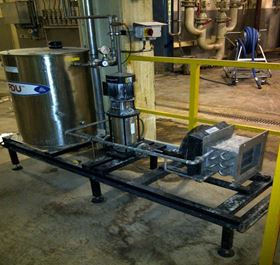 A sugar refinery saved £181,000 a year by installing dual mechanical seals with a water management system.