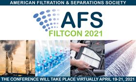 The AFS FiltCon 2021 abstract submissions process is open with a deadline of 1 March.