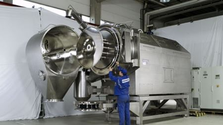 Heinkel inverting filter centrifuge with PAC® drying