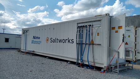 Saltworks' membrane pilot achieves 98% recovery
