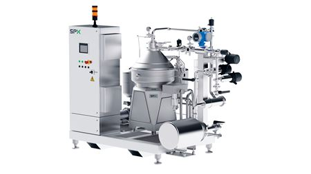 SPX Flow adds direct drive to centrifuge line