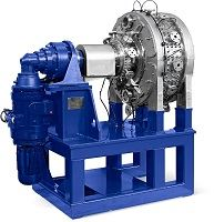 Rotary pressure filters for small-volume production