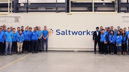 Saltworks' technology deployed on commercial scale