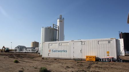 Saltworks' EOR pilot boosts oil production