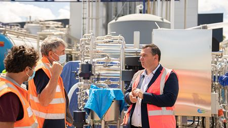 Hydroxsys' technology brings clean water to dairy processing
