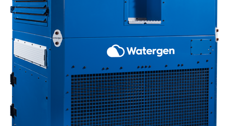 Watergen's technology fights South African drought