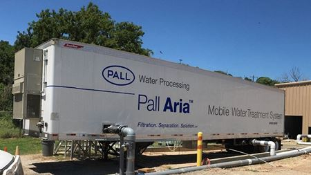 Mobile water treatment units