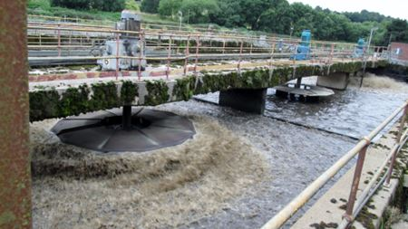 United Utilities discovers floating fine bubbles