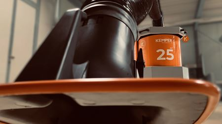 Kemper offers mobile welding fume extraction unit