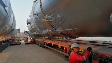 Ceco Peerless separators delivered to Middle East