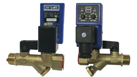 Hi-line Industries launches HTD condensate drain for air system filters
