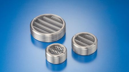 Boss Mount Strainers provide coarse level filtration without pressure drop