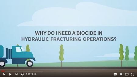 Video: Why do I need a biocide in hydraulic fracturing operations?