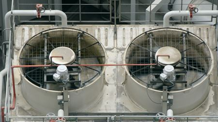 Air conditioning systems: Testing air cleaning devices in air conditioning units