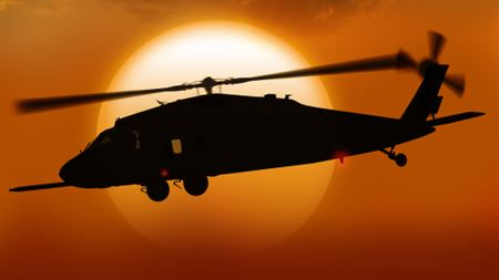 US Army selects dry barrier filter elements for Black Hawk engine