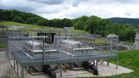 United Utilities using Hydrotech Discfilters for tertiary solids removal