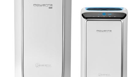 Rowenta air purifier eliminates pollutants and destroys formaldehyde
