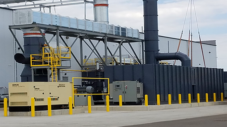 Plastics company selects Ceco technology to reduce emissions