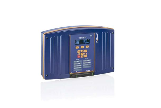 The new controller Aegis II for cooling and boiler water treatment.