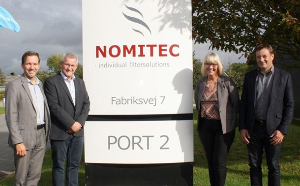 Camfil has acquired Danish air filtration company Nomitec AS.